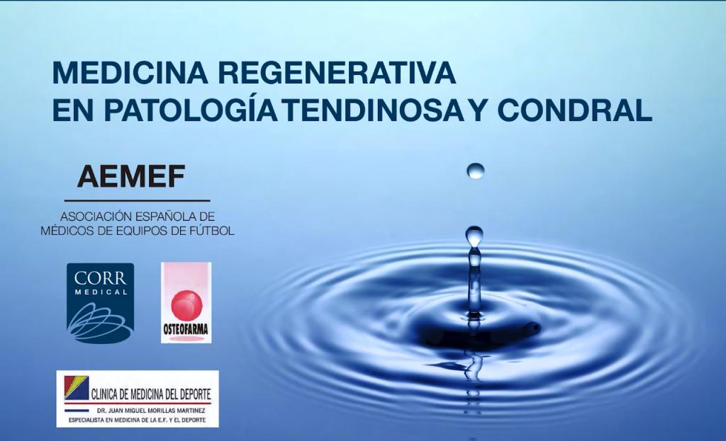 Jornadas de Medicina Regenerativa en Patología Tendinosa y Condral