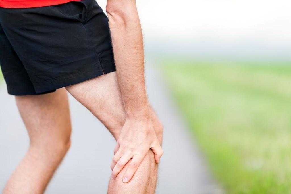 Artrosis de rodilla en un corredor