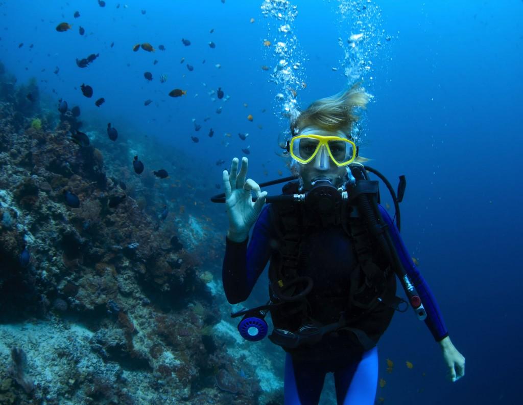 Reconocimiento médico para deportes subacuáticos.